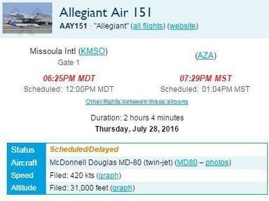 Allegiant Air is terrible save your money and use another airline