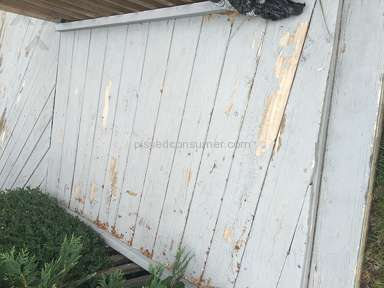 Behr - Paint is peeling off my deck & looks disgusting very upset took a long time to do