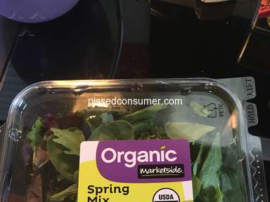 Walmart Marketside Spring Mix Salad review 177866
