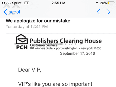 Publishers Clearing House - Sweepstakes Review from Overland Park, Kansas