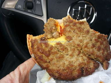 Jack In The Box - Cheeseburger Review from Pickford, Michigan