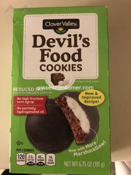 Clover Valley Devils Food Cookies