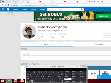 Roblox - Account was hacked soldier456yomyhomie