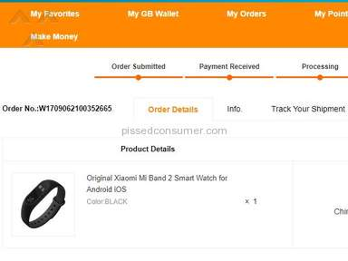 Gearbest Xiaomi Mi Band 2 Fitness Tracker review 260178