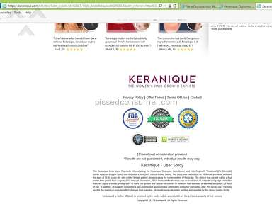 Keranique - I had a serious negative reaction to this product
