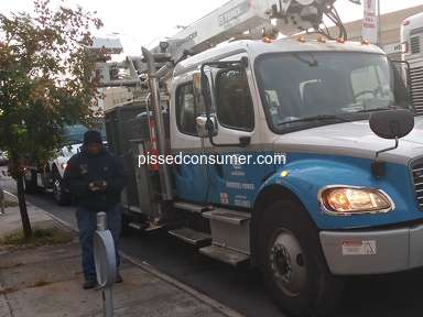 Con Edison - Accident with Con ED utility truck