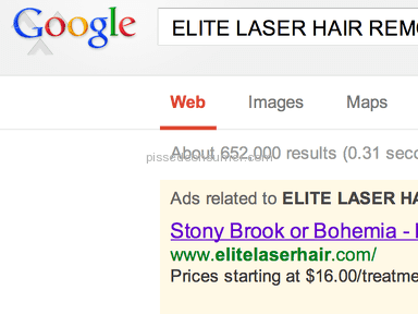 Elite Laser Hair Beauty Salons and Spas review 18385