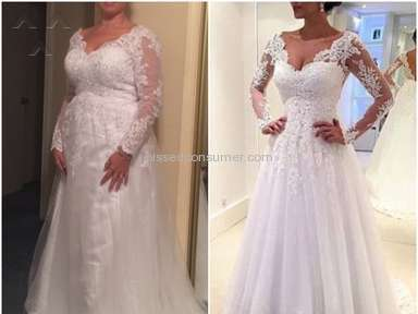 Tbdress Wedding Dress review 166200