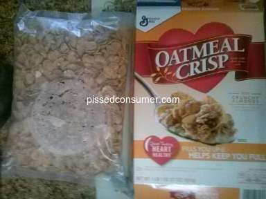 General Mills - Packaging Complaint