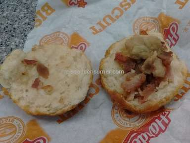Hardees - Biscuit Review from Greensboro, North Carolina