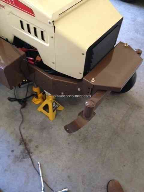 Grasshopper Mower - Tire and Wheel Issues Sep 07, 2015 @ Pissed Consumer
