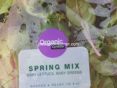Marketside - Found bug in ready to eat lettuce