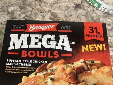 Banquet Meals - Misleading and a rip off!!