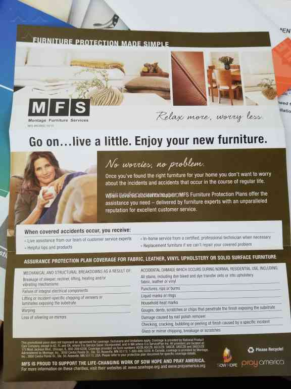 Wonderful Montage Furniture Services   Bait And Switch In My Opinion