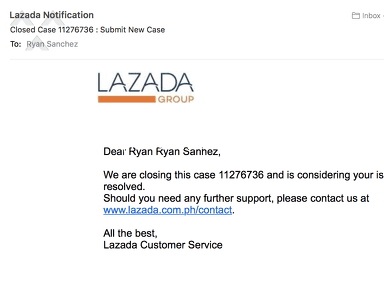 Lazada Philippines - Worst customer service ever!!! a