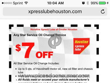 Havoline Oil Change review 134561