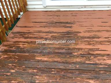 Behr - Ruined my deck