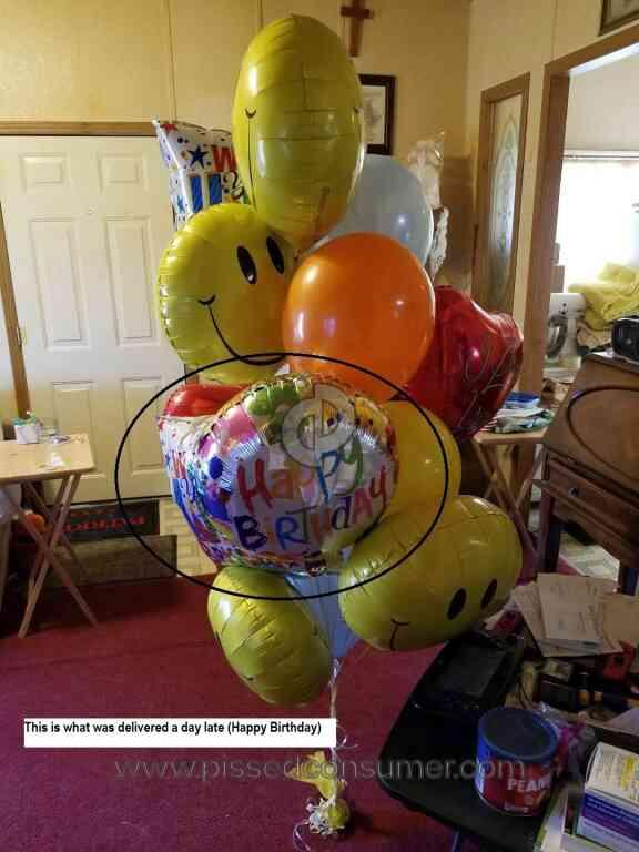 1 800 Balloons Birthday Balloon Review 347366