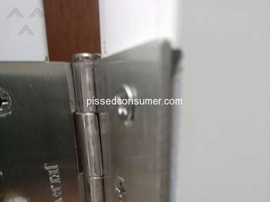 Jeld Wen - Exterior door of worst quality purchased from Home depot