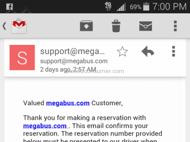 Megabus - Simple Review #1427806934
