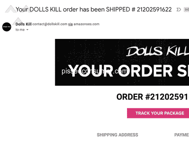 Dolls Kill Shipping Service review 361390