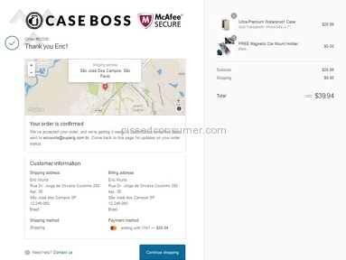 CASE BOSS - FACEBOOK, TWITTER, INSTAGRAM