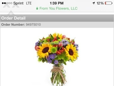 From You Flowers Fall Floral Garden Review from New York, New York
