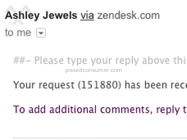 Ashley Jewels Shipping Service review 182990