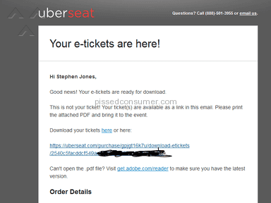 Uberseat Football Ticket review 158050