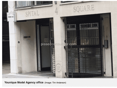 Am Management Uk And Younique Photography 4 Spital Square - SCAM !