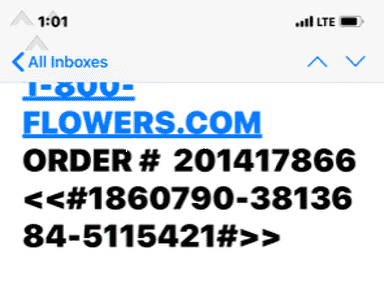 1800Flowers Delivery Service review 505872