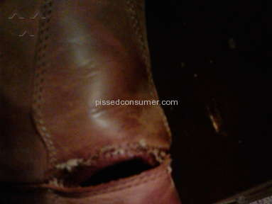 Wolverine boot coming apart at seams