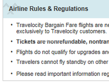Travelocity Flight Booking review 114535