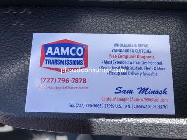 Aamco Service Centers and Repairs review 443575