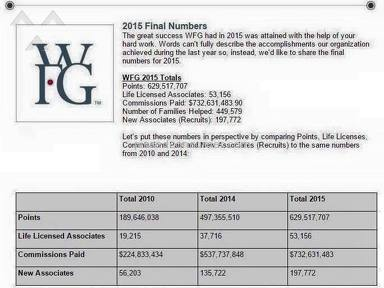 World Financial Group - WFG is a Great Way to Go BROKE and LOSE FAMILY and FRIENDS