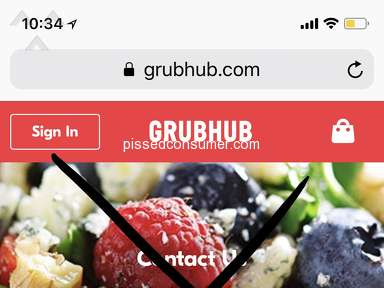 Pissed by Grubhub- never gonna use it again