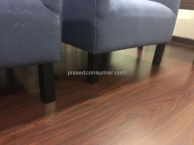 Pepperfry Chair Installation review 155524