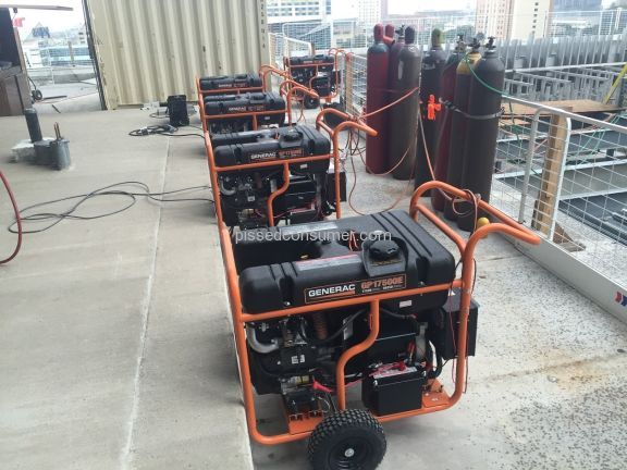Generac Power Systems Gp17500e Generator