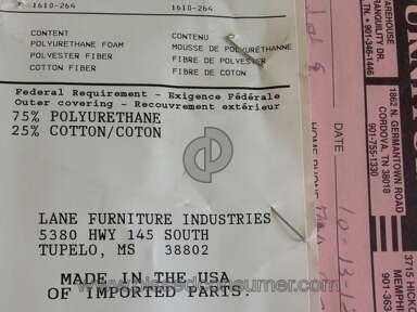 Lane Furniture Sofa review 74197