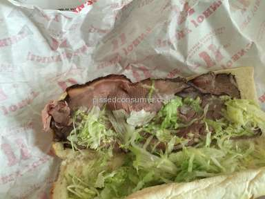 Jimmy Johns Sandwich review 85701