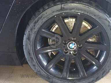 Big O Tires - Scraped My BMW Powder coated wheels