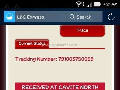 LBC Express Transportation and Logistics review 104663