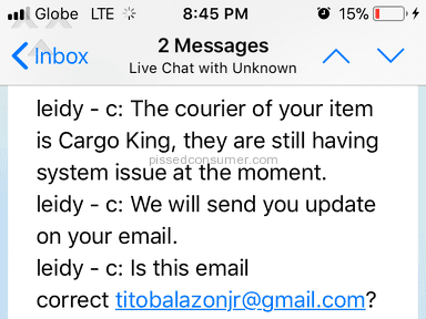 Lazada Philippines Shipping Service review 276936