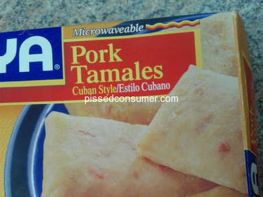 Goya Foods - Pork and Chicken Tamales