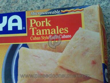 Goya Foods - Pork and Chicken Tamales
