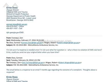 Metro Atlanta Ambulance Service Other review 173748