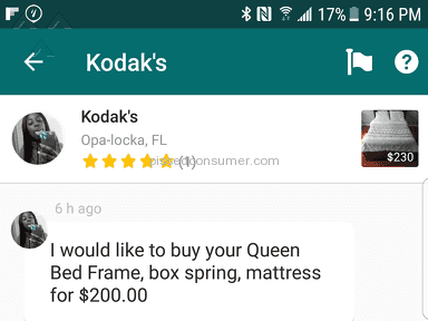 OfferUp - BEWARE OF OFFER UP