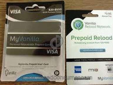 Vanilla Visa - Vanilla Debit Card