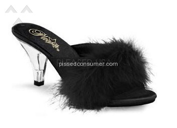 Pleaser Usa Belle301f Slippers