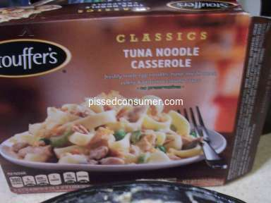 Stouffers - Tuna Noodle Casserole looked like MUSH